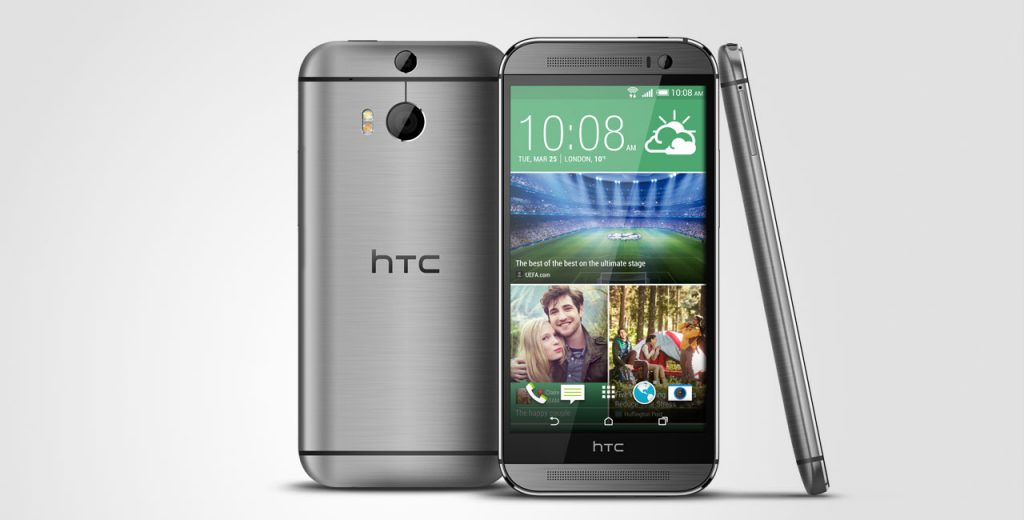 #4 in Our List of the Top 5 Android HTC Smartphones - HTC One M8