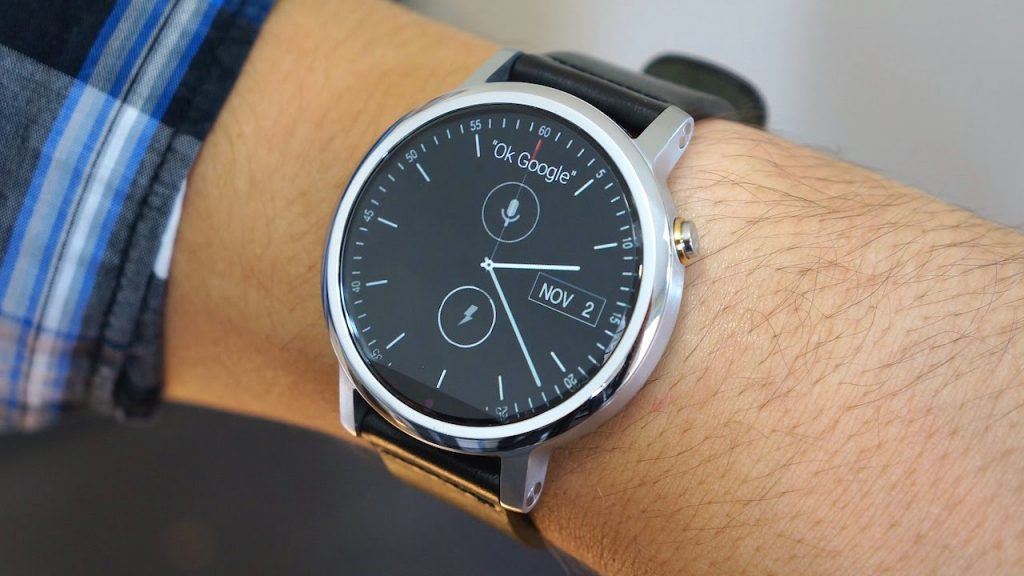 #5 in Our Best Android Smartwatch List - Motorola Moto 360 (2nd Generation)