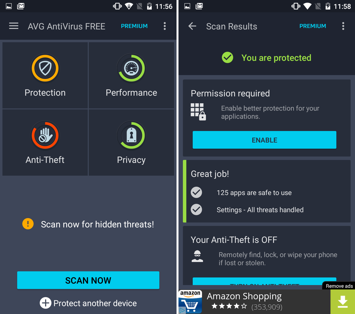 Android Security App Reviews: AVG Antivirus Free and Avast Mobile Security & Antivirus
