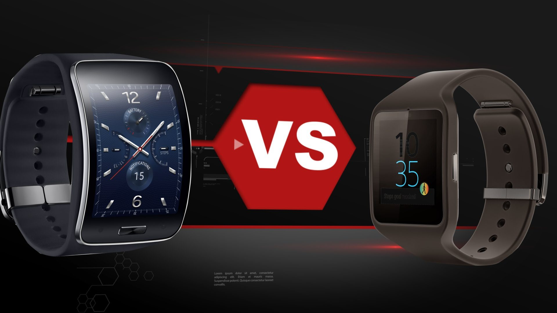 Sony Smartwatch 3 vs Samsung Gear S – The Battle of Two of the Best Wearable Devices