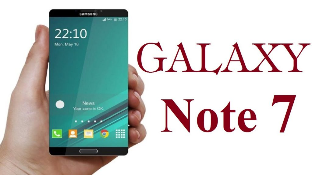 #1 in Our List of the Hottest Upcoming Android Smartphones - Samsung Galaxy Note 7