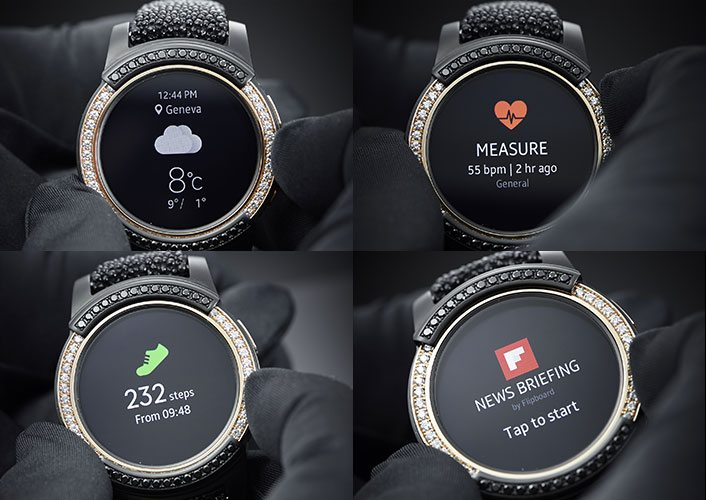 Smartwatches for Android - Samsung Gear S2 by de Grisogono