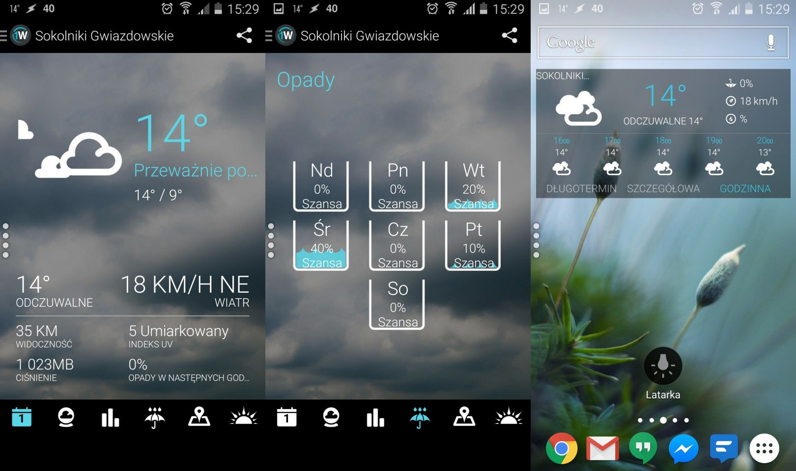 Android Weather Apps Review: 1Weather and Arcus Weather