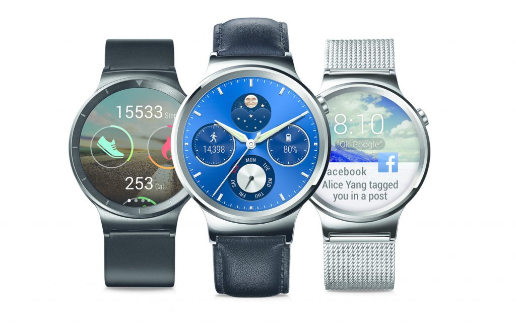 #4 in Our List of the Hottest Android Wear Smartwatches - Huawei Watch