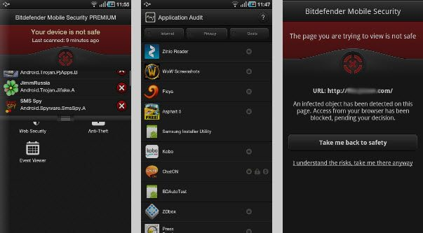 Android Security Apps Review - Bitdefender