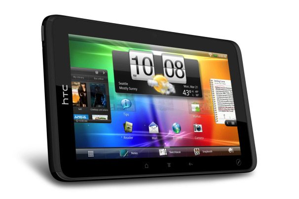 #3 in Our Best Android HTC Tablets List - HTC Evo View 4G