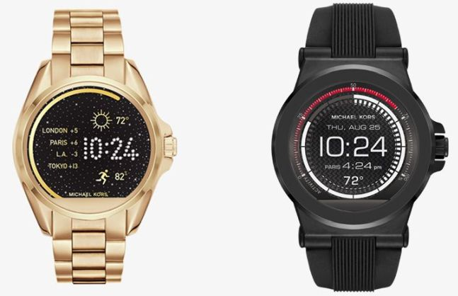 #3 in Our List of the Best Android Smartwatches - Michaels Kors Access Collection