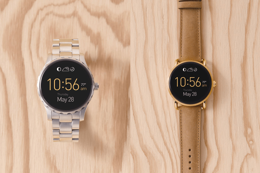 #4 in Our List of the Best Android Smartwatches - Fossil Q Marshal and Fossil Q Wander
