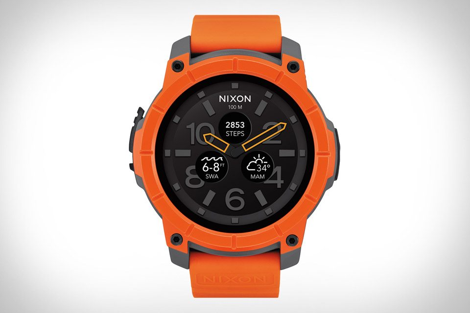 #5 in Our List of the Best Android Smartwatches - Nixon Mission