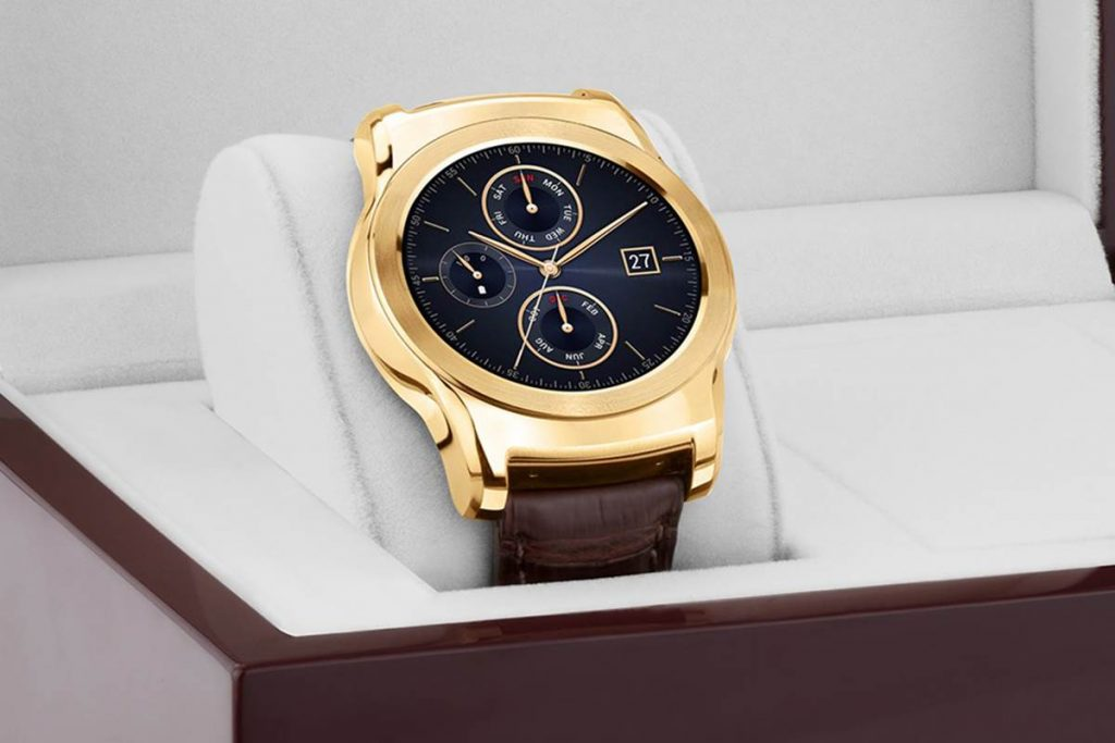 Android LG Smartwatch List - LG Urbane Luxe Smart Watch