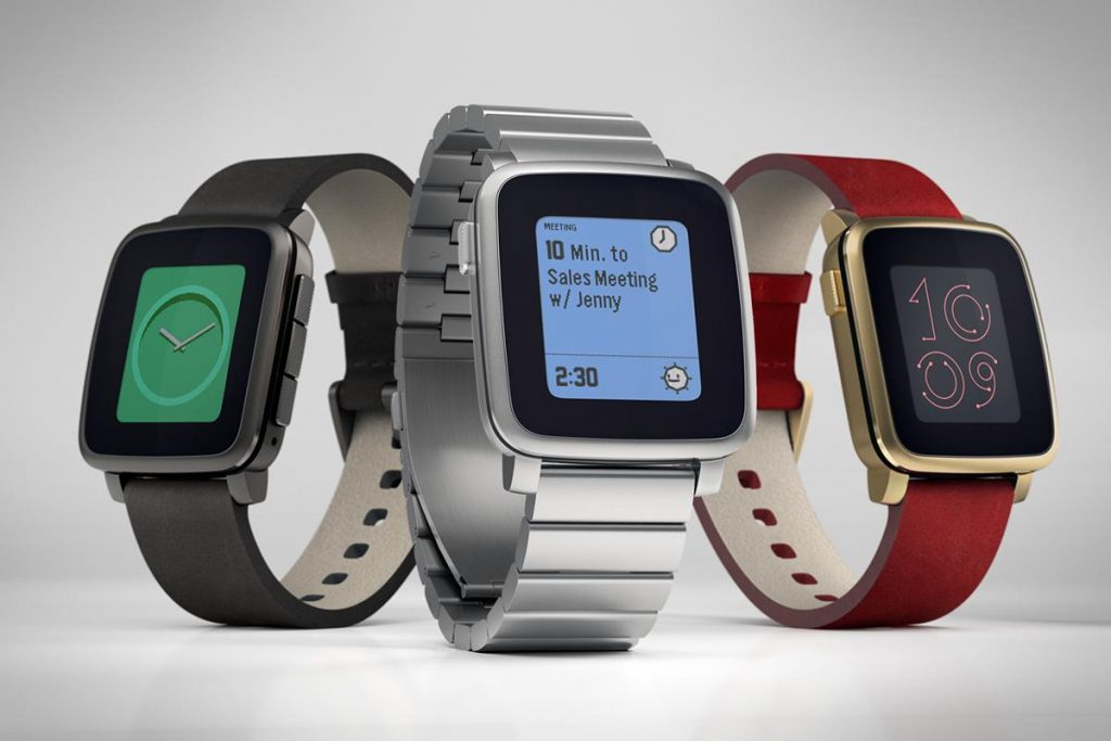Top Android Smartwatches - Pebble Time Steel