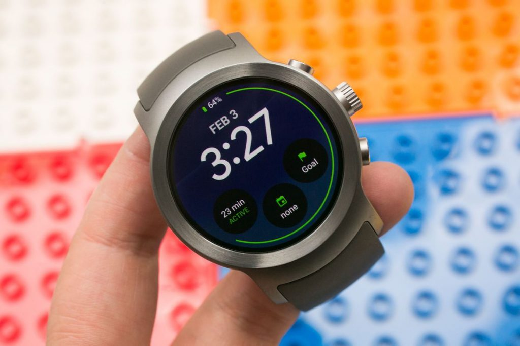 #1 in Our List of the Best Smartwatch for Android - LG Watch Sport