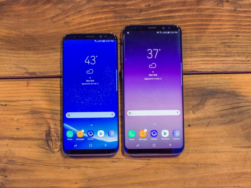 #2 in Our List of the Best Android Phones - Samsung Galaxy S8 and S8 Plus