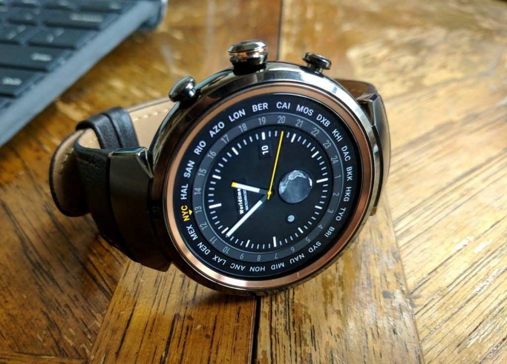 #3 in Our List of the Best Smartwatch for Android - Asus Zenwatch 3