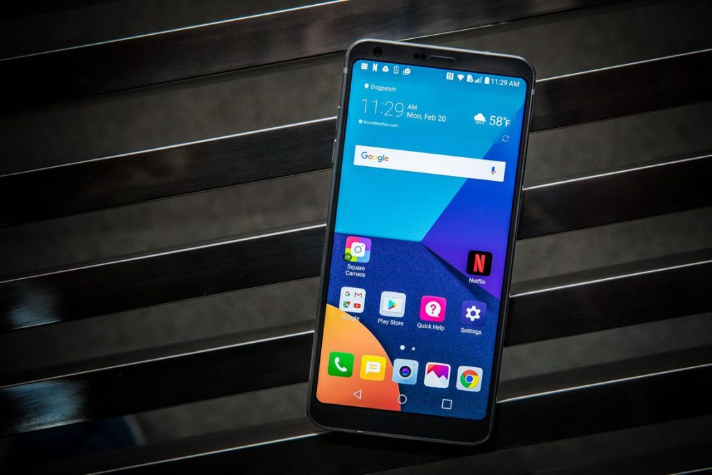 #5 in Our List of the Best Android Phones - LG G6