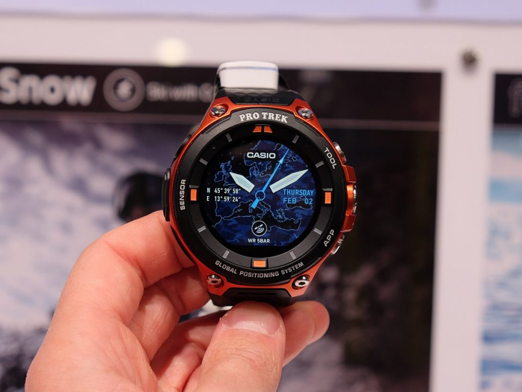 #6 in Our List of the Best Smartwatch for Android - Casio Pro Trek Smart WSD-F20
