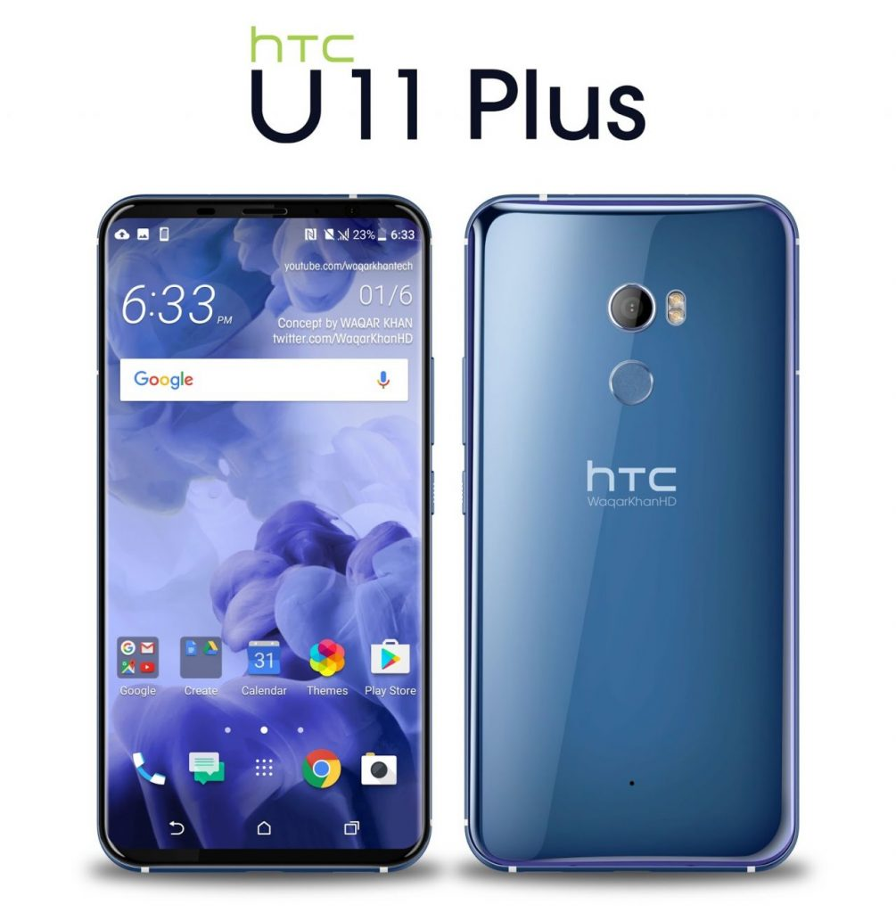 Best Upcoming Smartphones of November - HTC U11 Plus