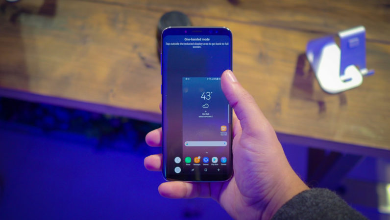 Samsung Galaxy S8 Tips and Tricks: Activate One Handed Mode