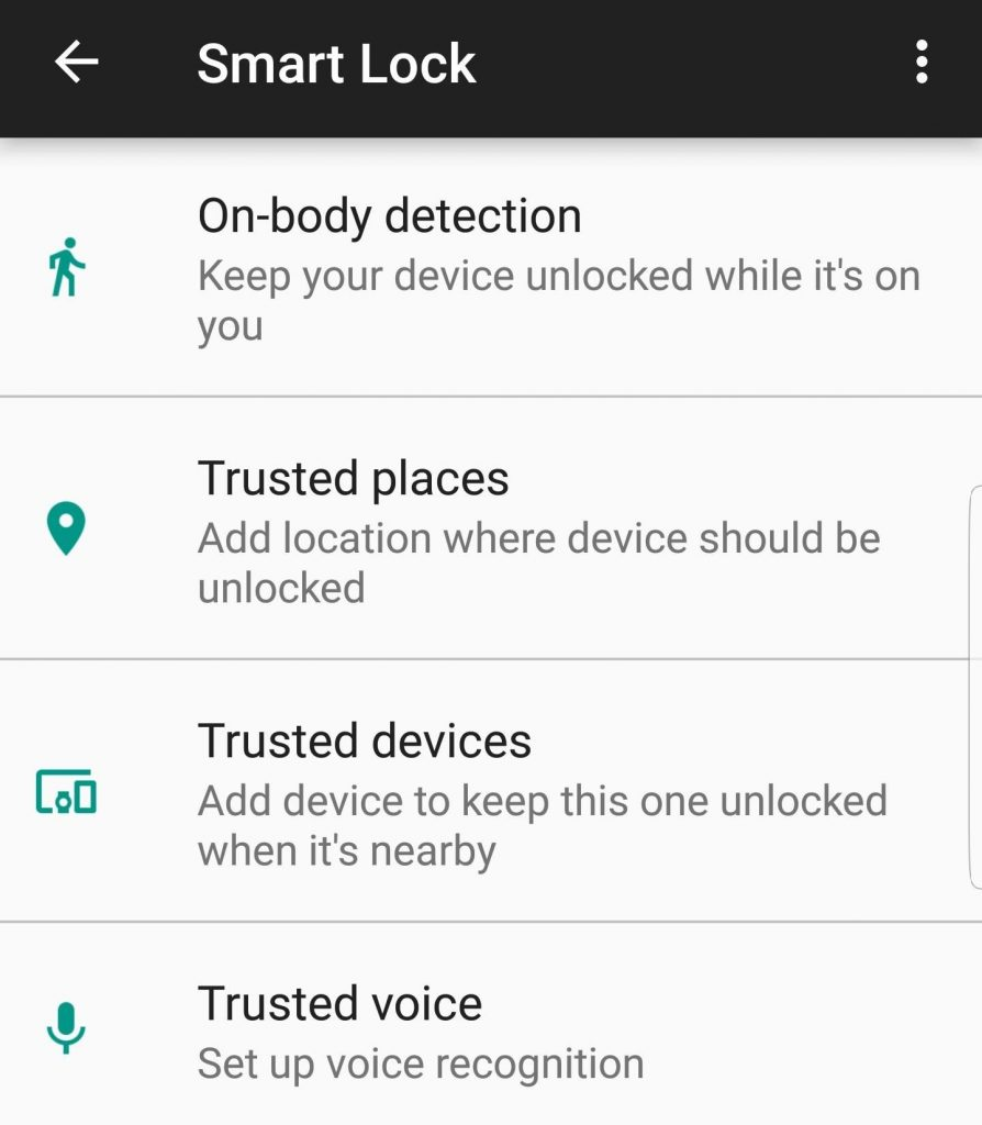 Samsung Galaxy S8 Tips and Tricks - Enable Automatic Unlocking in Safe Situations