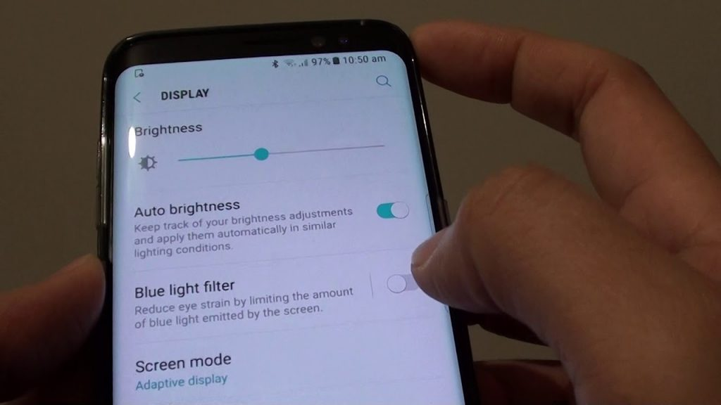 Samsung Galaxy S8 Tips and Tricks - Protect Your Eyes with the Blue Light Filter