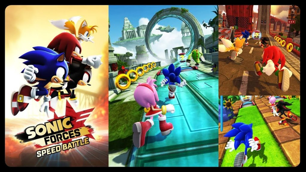 Best Free Android Games 2017 List – Sonic Forces Speed Battle