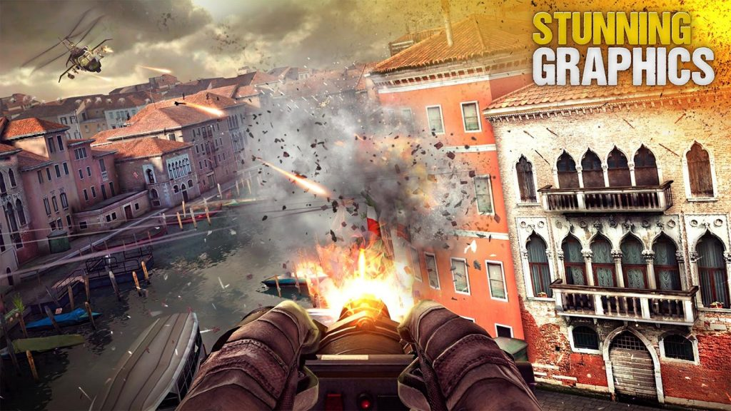 Best Shooting Games for Android 2017 – Modern Combat 5 Blackout