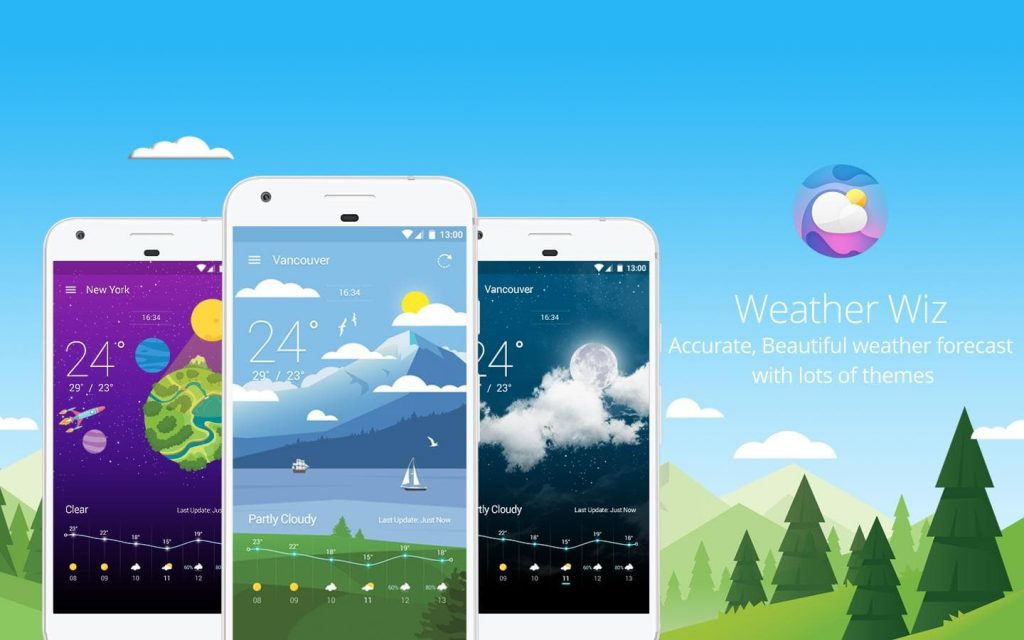 Best Weather Apps for Android 2018 - Weather Wiz