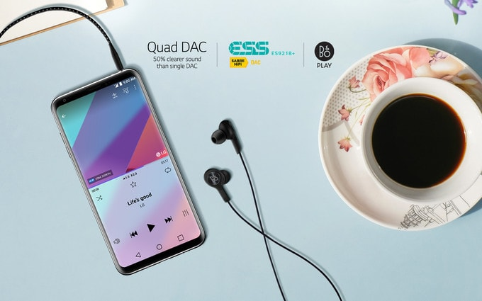 LG V30 Review - Audio System