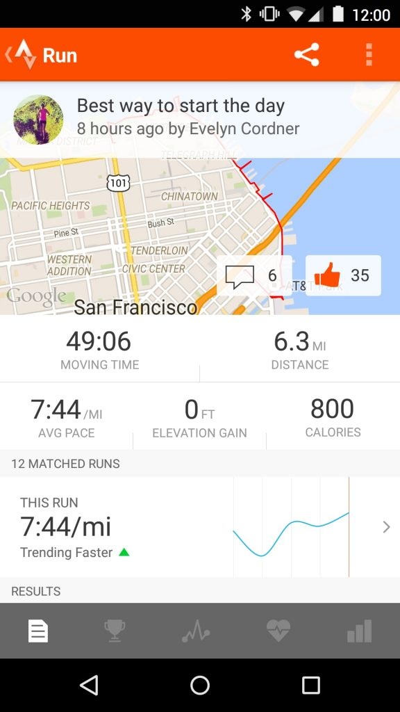 #3 in Our Best Running App Android List - Strava