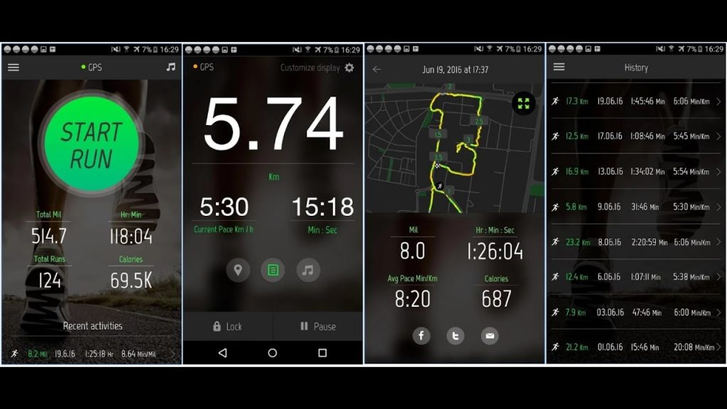 #6 in Our Best Running App Android List - Running Distance Tracker
