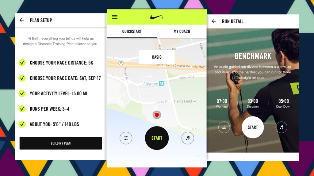 #8 in Our Best Running App Android List - Nike+ Run Club