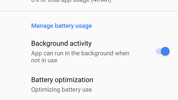 Android O vs iOS 11 - Background Limit