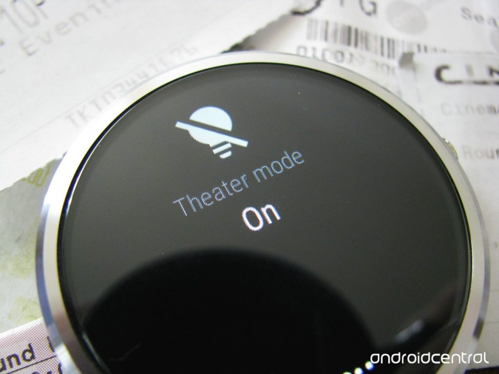 "Android Wear Tips and Tricks - Make Your Smartwatch ""Theater-Proof"""