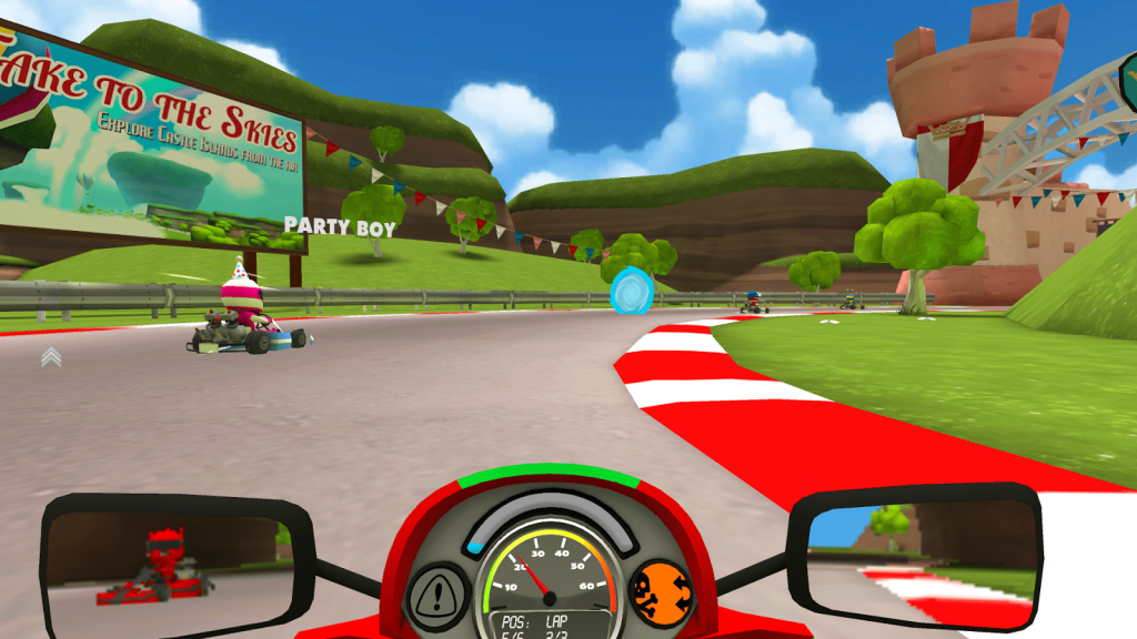 Best Samsung Gear VR Games – VR Karts Sprint