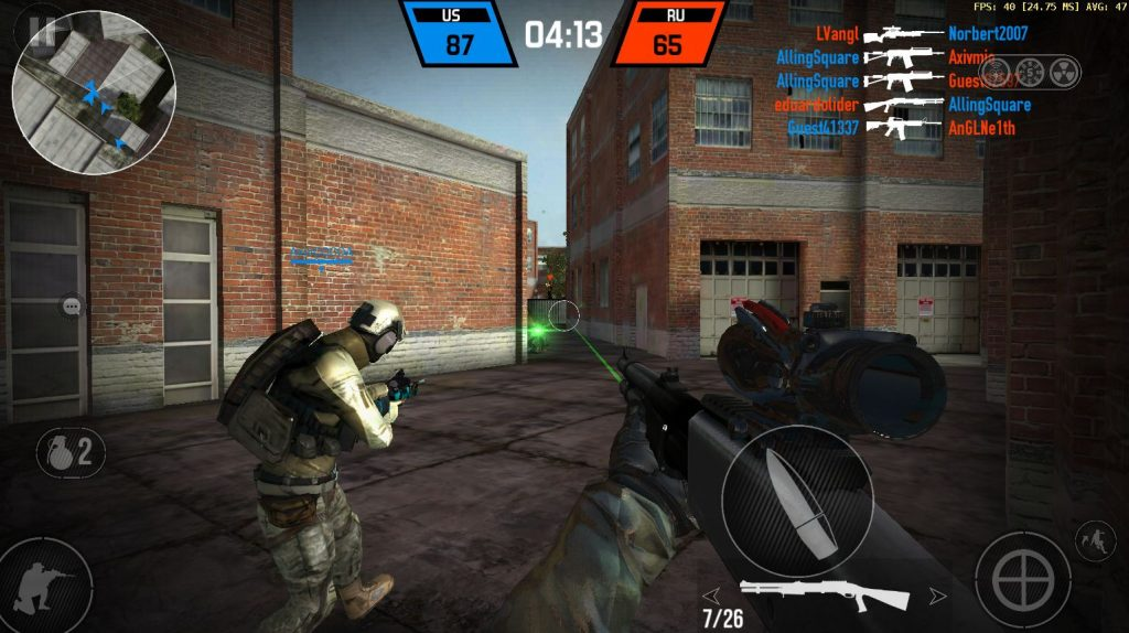 Best Offline Games for Android – Bullet Force