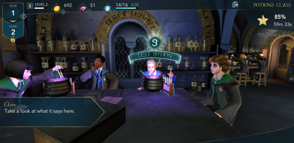 Best New Android Games of 2018 – Harry Potter Hogwarts Mystery