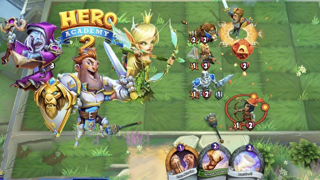 Best New Android Games of 2018 – Hero Academy 2