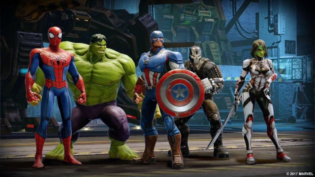 Best New Android Games of 2018 – Marvel Strike Force