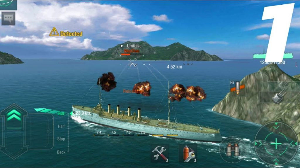 Best New Android Games of 2018 – World of Warships Blitz