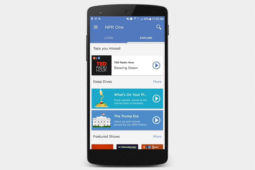 Best Radio Apps for Android - NPR One