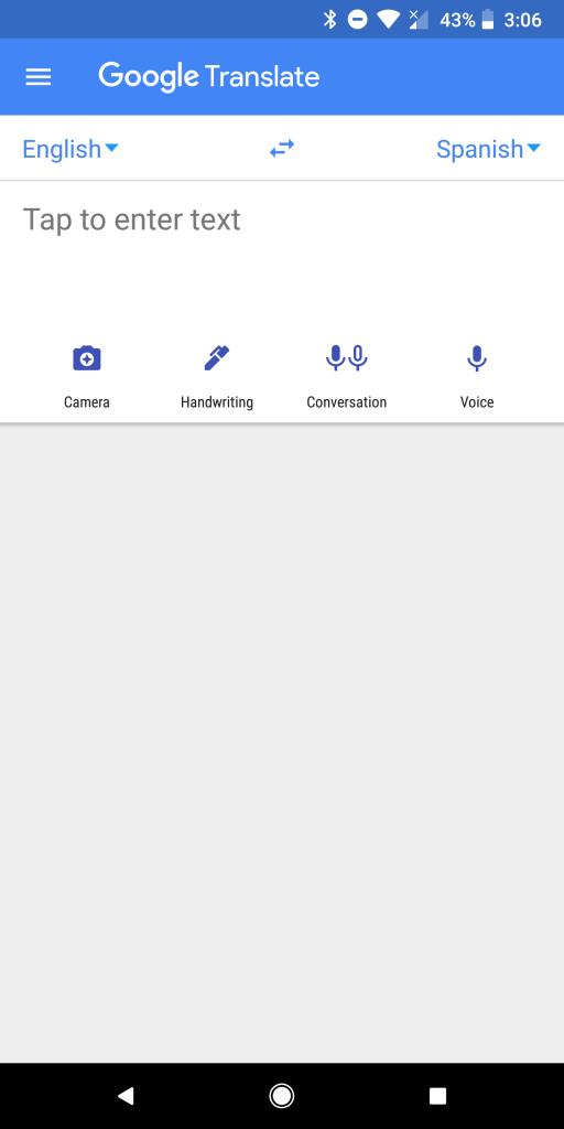 Best Translation Apps for Android - Google Translate