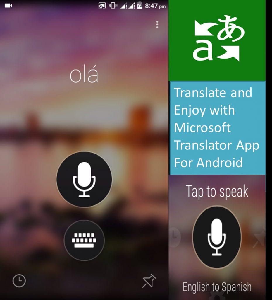 Best Translation Apps for Android - Microsoft Translator