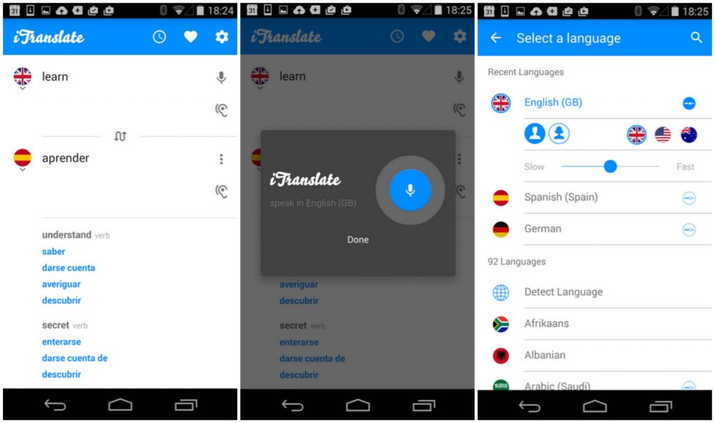 Best Translation Apps for Android - iTranslate