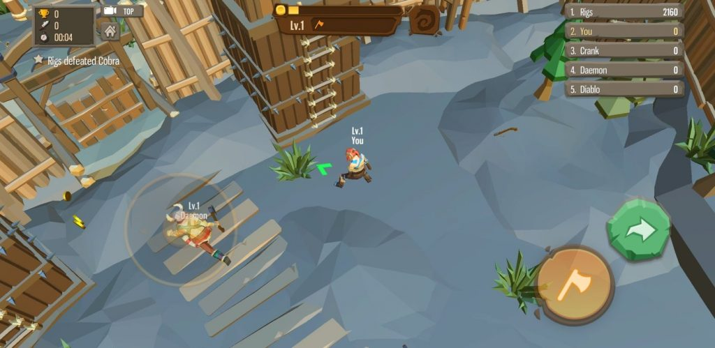 Android Hack and Slash Games – AXE.IO