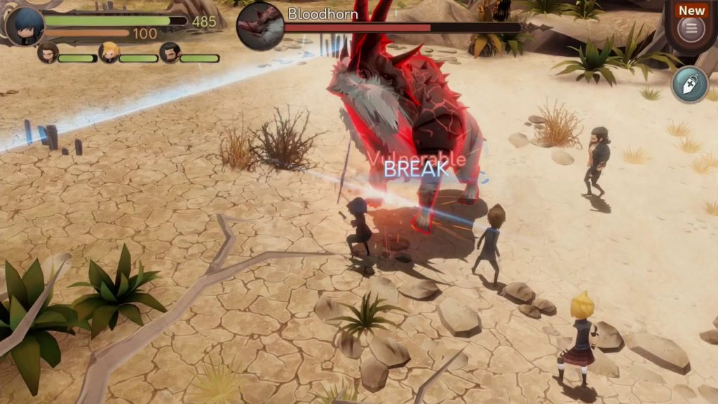 Android Hack and Slash Games – Final Fantasy XV Pocket Edition