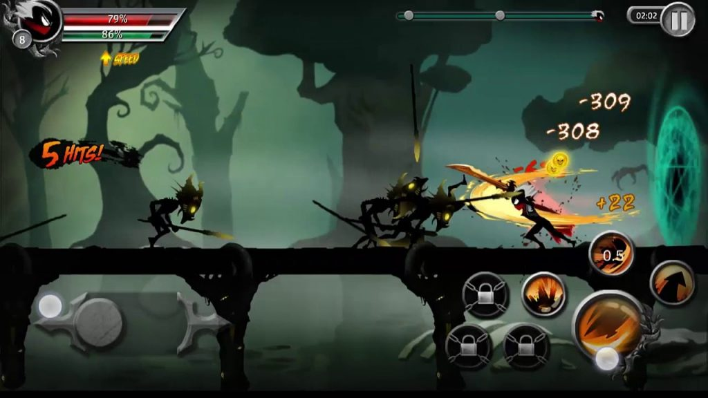 Android Hack and Slash Games – Stickman Legends