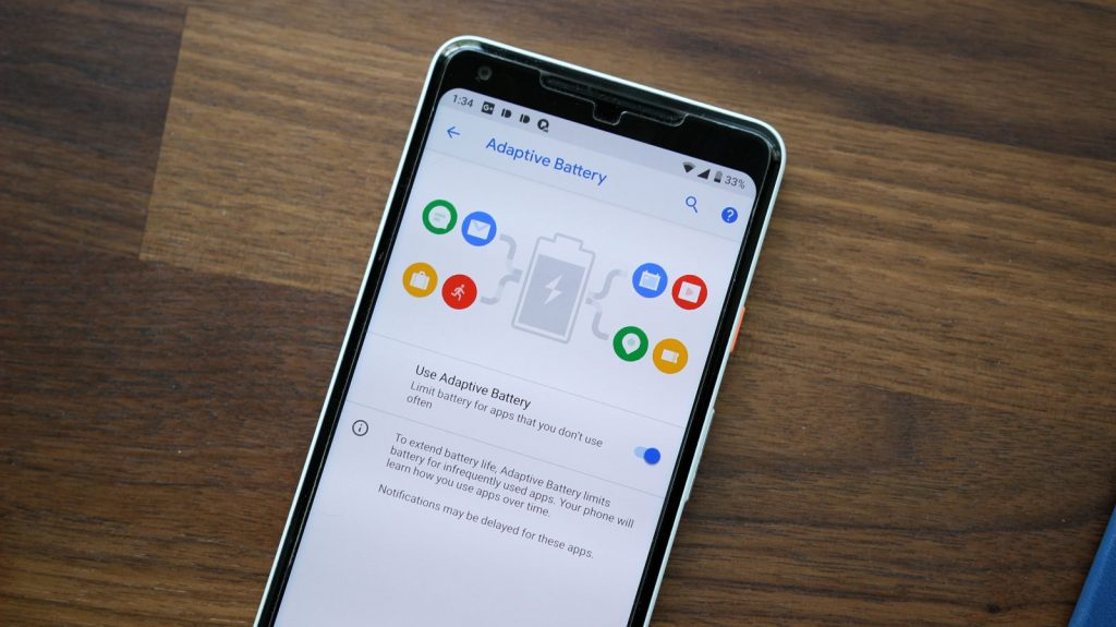 Android Pie Features - Adaptive Battery