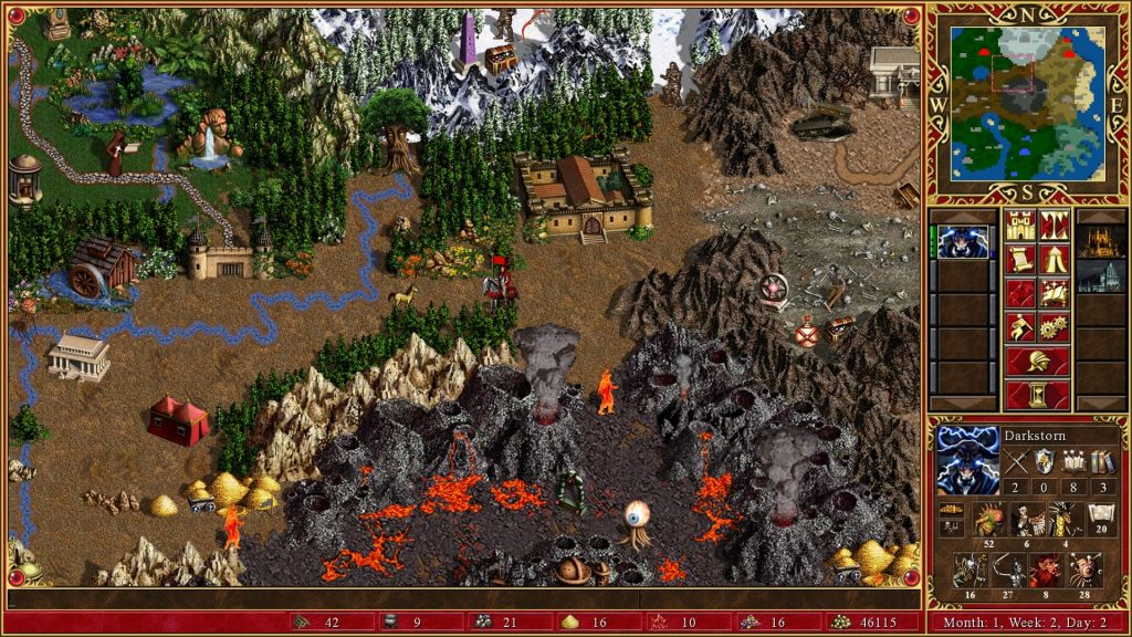 Best Strategy Games for Android – Heroes of Might and Magic III