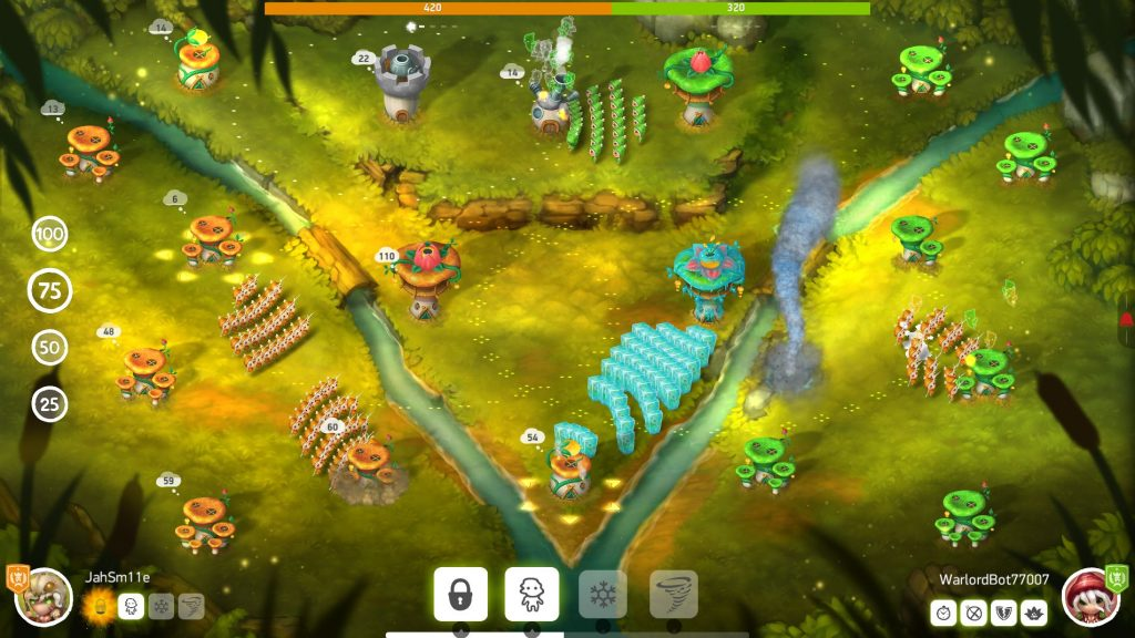 Best Strategy Games for Android – Mushroom Wars 2