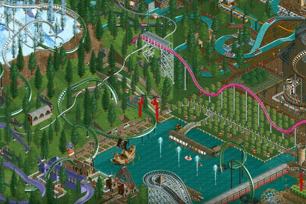 Best Strategy Games for Android – Rollercoaster Tycoon Classic
